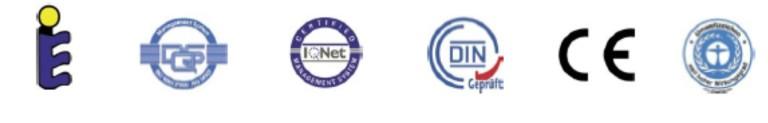 Fabryka KBB posiada również Certyfikat DIN/ISO 9001