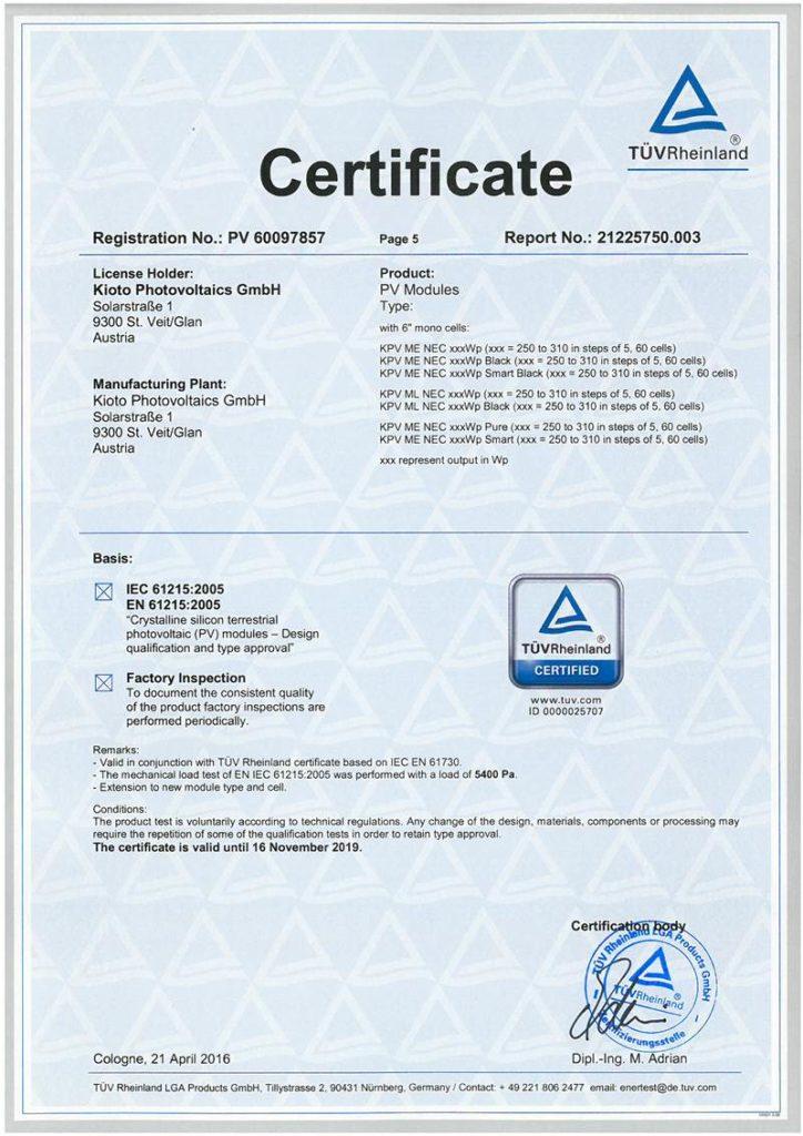 MONO Certificate PV 60097857_IEC 61215_page 5-odblokowany