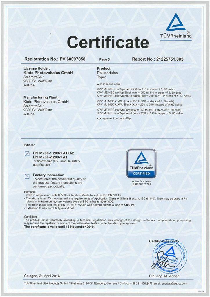 MONO Certificate PV 60097858_EN 61730_page 5-odblokowany