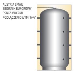 Zbiornik buforowy 500 do 5000L - Austria email zbiornik buforowy psm z mufami