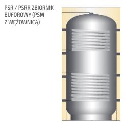 Zbiornik buforowy PSR / PSRR (PSM z wężownicą)