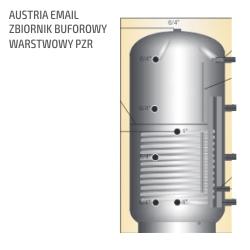 Zbiornik Austria Email buforowy warstwowy PZR