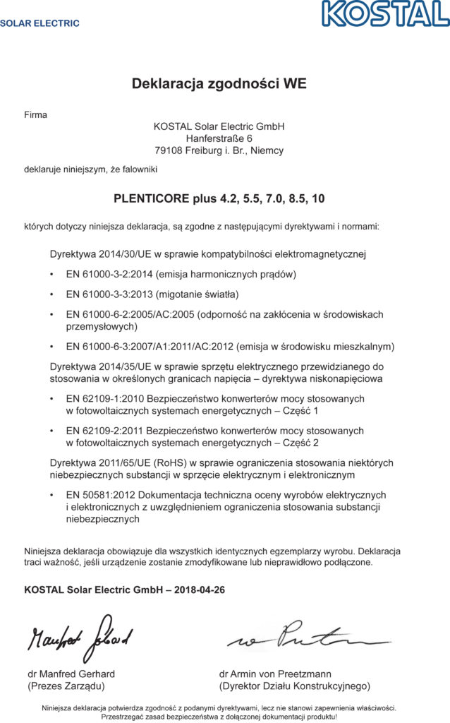xxxx_HE-EU-Declaration-of-Conformity_PLENTICORE_PL.indd