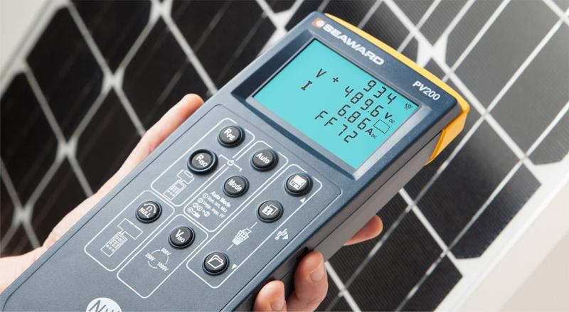 PV200 Tester Solar PV z funkcją krzywej I-V