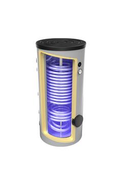 Zbiorniki Emaliowane OEM CERAMIC zwężownicą + podwójną wężownicą HP 200 do 1000L